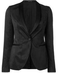 Tagliatore Smocking Jacket - Zwart