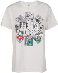 R13 T-shirt - Blanco