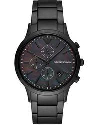 Emporio Armani Watch Ur - Ar11275 - Zwart