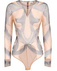 Burberry Printed bodysuit - Neutre