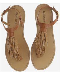 Sartore Low sandals Marrón