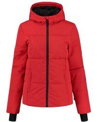 NIKKIE Logo Ski Jacket - Rood