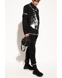 Givenchy Sweatpants with logo Negro
