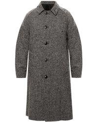 AMI Wool Coat - Grijs