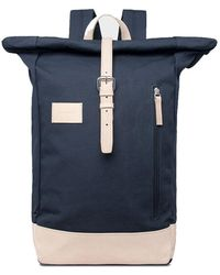 Sandqvist Dante Grand Laptop Backpack - Blauw