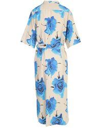Paul Smith - 3/4S Dress Azul - Lyst