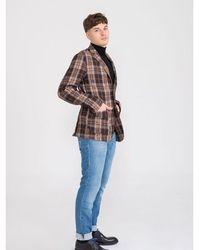 Cruna Chelsea jacket Marrón