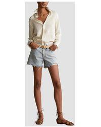 Polo Ralph Lauren - Shorts Sophia Azul - Lyst