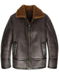 PME LEGEND Lammy Jacket 100% Sheepskin - Bruin