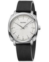 Calvin Klein Watch K5m311d6 - Zwart
