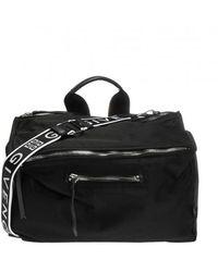 Givenchy Shoulder Bag With Logo - Zwart