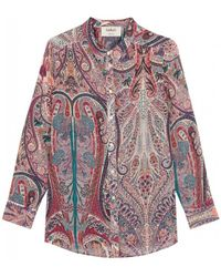 Ba&sh Blake Shirt - Roze