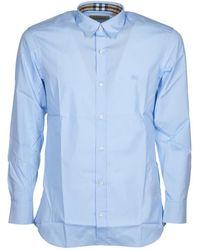 Burberry Shirt - Blauw