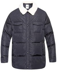 Yves Salomon Down Jacket - Blauw