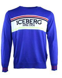 Iceberg Pullover - Bleu
