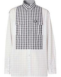 Burberry Shirts Light Grey - Grijs