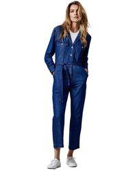 Denham Galloway Suit Bllwi - 02210218001-6 - Blauw