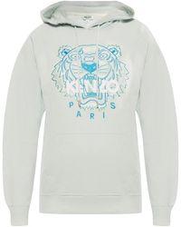 KENZO Tiger Head Sweatshirt - Blauw
