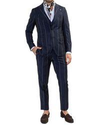 Gabriele Pasini Suit Azul
