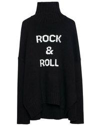 Zadig & Voltaire Alma Mv Rock Sweater - Zwart