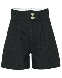 Custommade• Novelle Shorts - Zwart