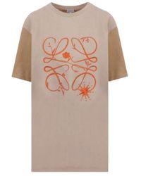 Loewe T-shirt - Bruin