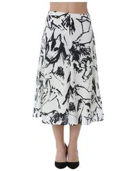 Mauro Grifoni Skirt - Wit