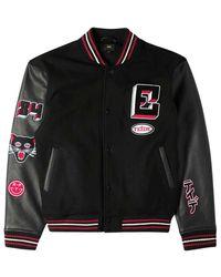 Edwin Varsity Chapter Jacket - Zwart