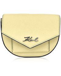 Karl Lagerfeld Belt Bag - Geel