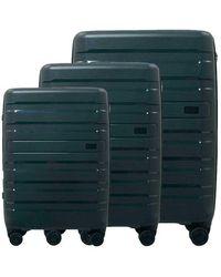 Conwood Santa Cruz luggage Superset S+m+l Jet Set - Zwart