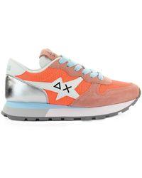 Sun68 Ally Star Basic Sneakers - Orange