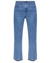 RED Valentino Jeans with logo - Azul