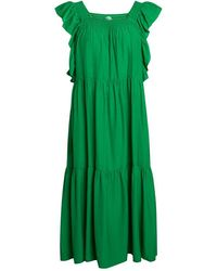 co'couture Sunrise Smock Dress - Groen