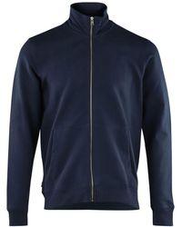 Woolrich Zip Through Wosw0073mr Ut2127 - Blauw