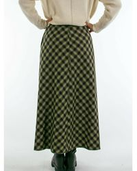 Diega Falda Jabo Skirt - Vert