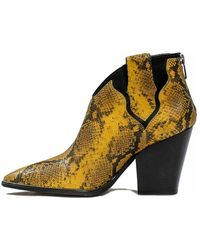 Janet & Janet Boots - Geel