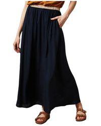 Hartford Juillet Skirt - Blauw