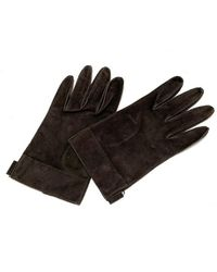 Gucci Tweedehands Handschoenen - Bruin