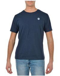 North Sails T-shirt - Blauw