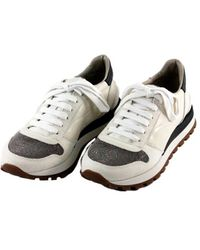 Brunello Cucinelli Flat Shoes - Wit