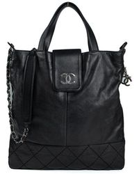 Chanel Tote Zip Around - Noir