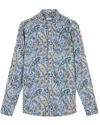Etro Shirt - Blauw