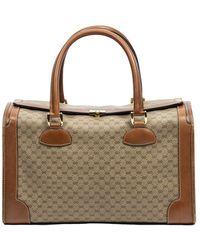 Gucci Borsa con lucchetto vintage - Neutro