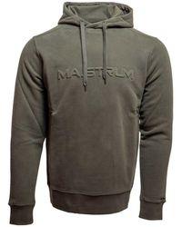 MA.STRUM Embossed hoodie m 306 - Verde
