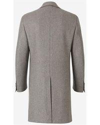 Canali Coat Gris