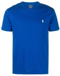 Polo Ralph Lauren T-shirt With Logo - Blauw