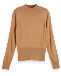 Maison Scotch Sweater - Bruin