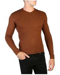 Yes-Zee Sweater M839_Mq00 - Marrone