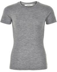 Gestuz Wilma T-shirt - Grijs