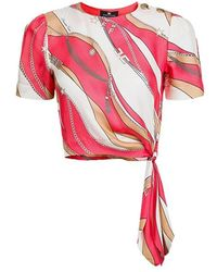Elisabetta Franchi Shirt - Roze